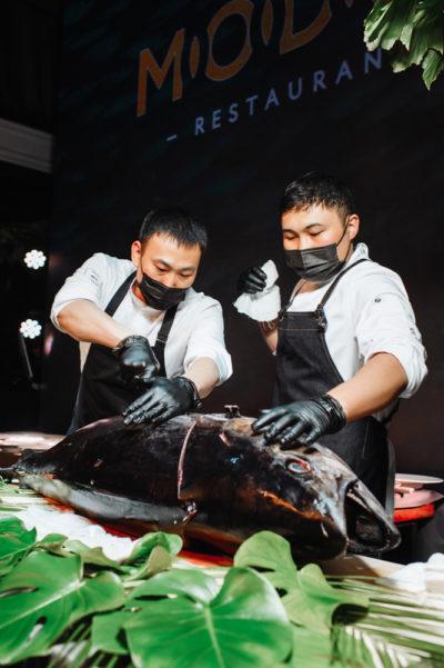 Ужин Big Fish в ресторане Modus